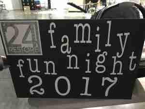 24Restore Family Fun Night